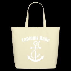 captians babe canvas tote  - Eco-Friendly Cotton Tote