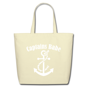captians babe canvas tote  - Eco-Friendly Cotton Tote