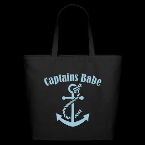 captains babe blue  - Eco-Friendly Cotton Tote