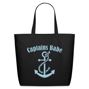 captains babe blue  - Eco-Friendly Cotton Tote