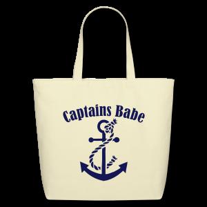 captains babe  - Eco-Friendly Cotton Tote