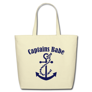 captains babe  - Eco-Friendly Cotton Tote