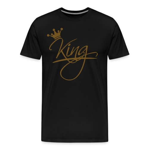 Men's Premium T-Shirt Gold Edition - Men's Premium T-Shirt