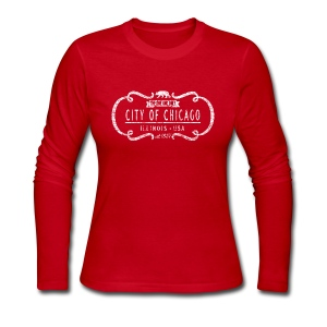 One and Only City of Chicago - Women's Long Sleeve Jersey T-Shirt