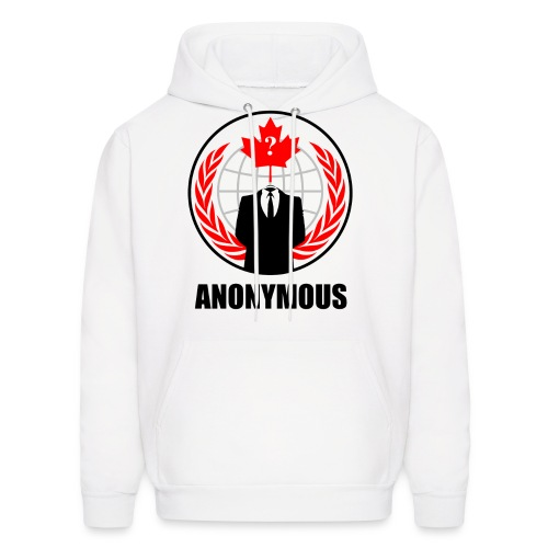Can. Anonymous - Men's Hoodie