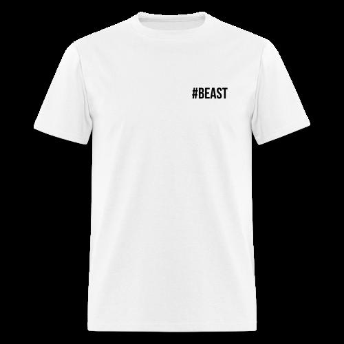 #Beast Espalda & Pecho - Men's T-Shirt