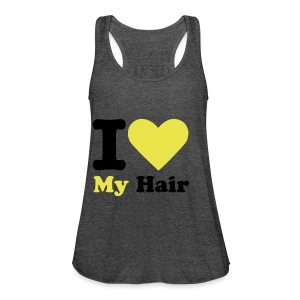 Women's Flowy Tank Top by Bella - afro tshirt,curly hair,kinky hair,natural boss lady,natural hair,natural hair products,natural hair tee,natural hair tshirts,naturalbosslady,ycaf