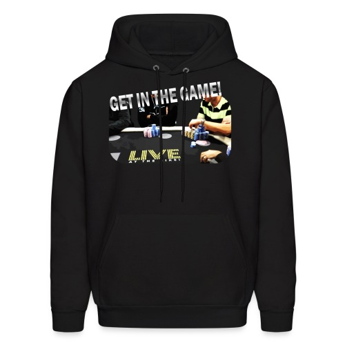 Men's Get in the Game! Live at the Bike Graphic Hoodie - Men's Hoodie