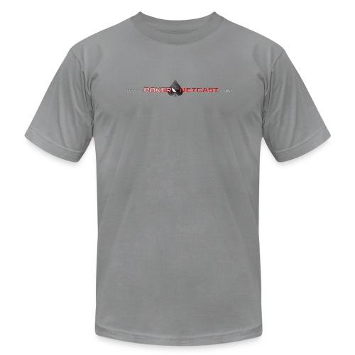 Men's snug-fitting lightweight PokerNetcast.com Live at the Bike T-shirt - Men's Fine Jersey T-Shirt