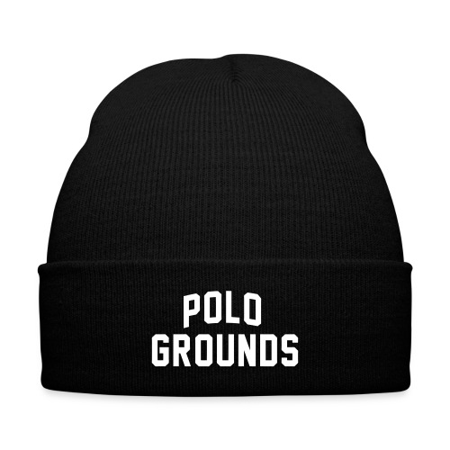 Font Polo Grounds skully  - Knit Cap with Cuff Print