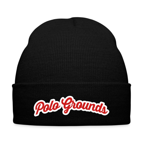 Polo Grounds skully  - Knit Cap with Cuff Print