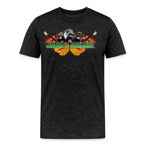 Men's Official MonkeyBrigade Community Logo - Men's Premium T-Shirt