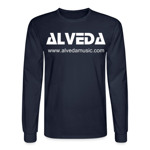 ALVEDA - MAN ECOLONG SPECIAL BLUE - Men's Long Sleeve T-Shirt