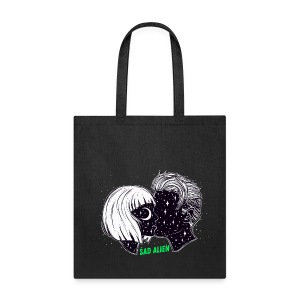 Sad Alien -  Like Us Series Tote Bag - Tote Bag