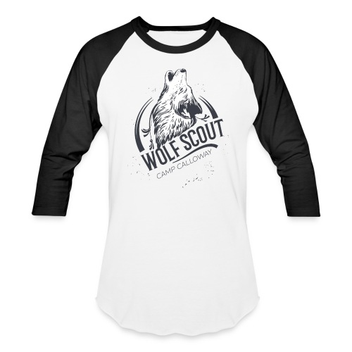 Wolf Scout - Like Us Series Baseball T-Shirt - Baseball T-Shirt