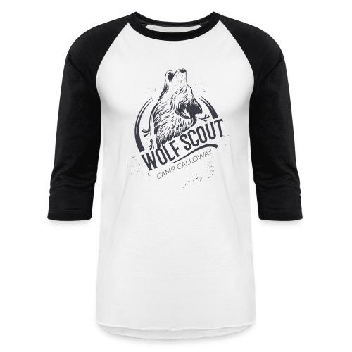 Wolf Scout - Like Us Series Baseball T-Shirt - Baseball T-Shirt