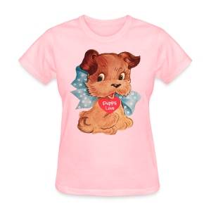 Puppy Love - Women's T-Shirt