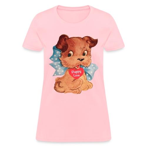 Puppy Love - Women's T-Shirt