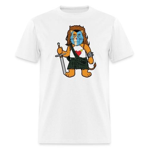 Brave Of Heart Lion - Men's T-Shirt