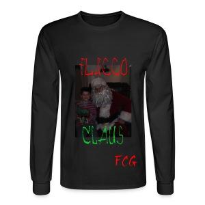 Flacco Claus Long Sleeve Tee - Men's Long Sleeve T-Shirt