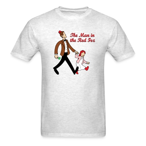 The Man In The Red Fez - Men's T-Shirt