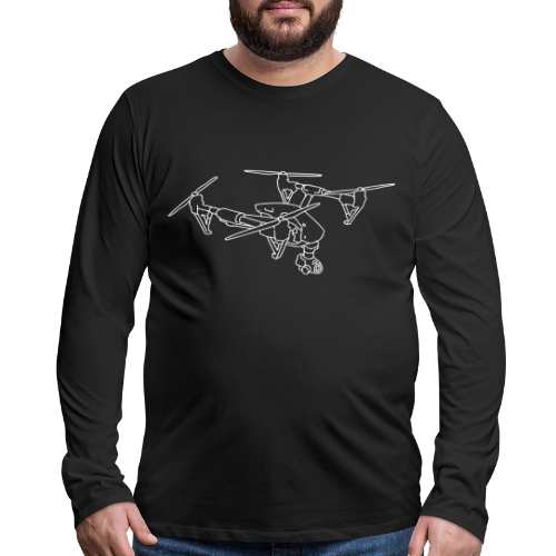 Drone (UAS) - Men's Premium Long Sleeve T-Shirt