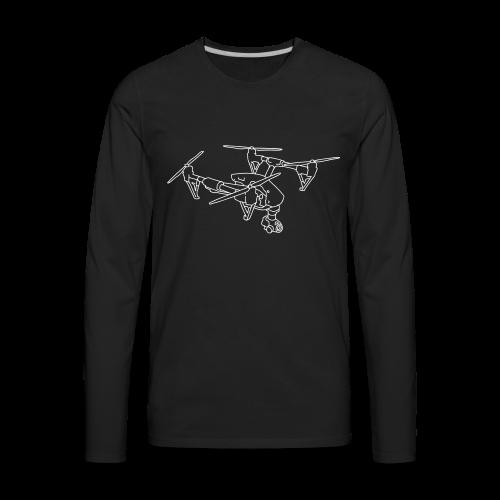 Drone (UAS) - Men's Premium Long Sleeve T-Shirt