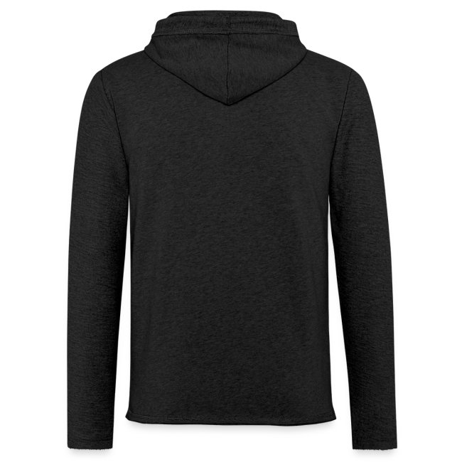 Unisex Lightweight Terry Hoodie - New Logo Ketogains Vertical - Colors