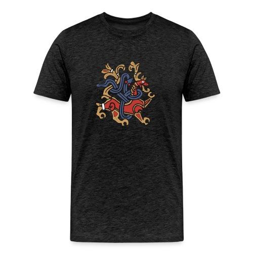 The Jelling Dragon - Men's Premium T-Shirt