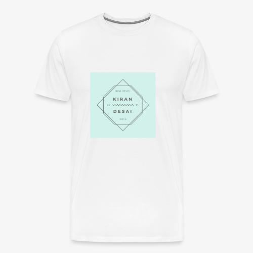Kiran Desai Shirt - Men's - Men's Premium T-Shirt