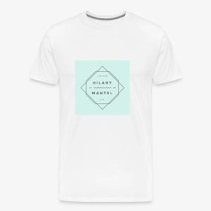 Hilary Mantel - Men's - Men's Premium T-Shirt