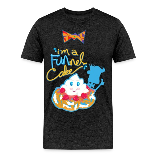 I'm a FUNnel Cake (Adults) - Men's Premium T-Shirt