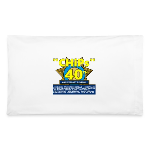CHiPs 40th Pillowcase - Pillowcase