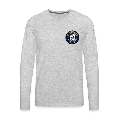 USS JOSEPH HEWES FF-1078 LONG SLEEVE  - Men's Premium Long Sleeve T-Shirt