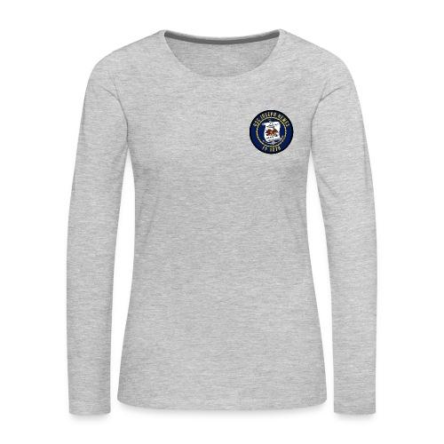 USS JOSEPH HEWES FF-1078 LONG SLEEVE - WOMENS - Women's Premium Long Sleeve T-Shirt