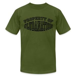 Property of #Ludanation - Men's Fine Jersey T-Shirt