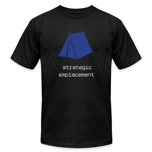 Strategic Emplacement Tee - Men's Fine Jersey T-Shirt