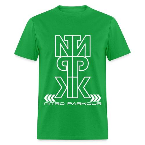 GRN NPK white mirror - Men's T-Shirt
