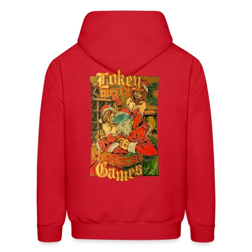 Official Lokey Games Limited edition Christmas Special Men's Hoodie - Men's Hoodie