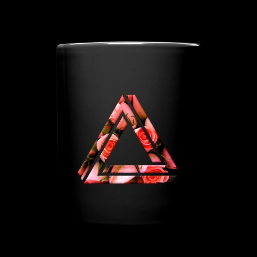 Rose Triangle Mug - Full Color Mug