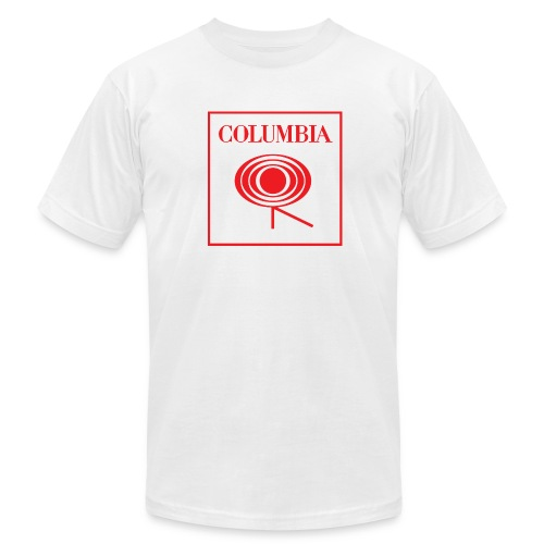 Columbia (red logo) White Tee (AA) - Men's  Jersey T-Shirt
