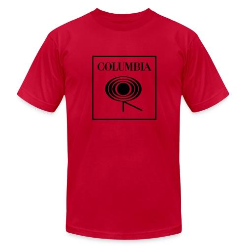 Columbia (black logo) Red Tee (AA) - Men's Fine Jersey T-Shirt