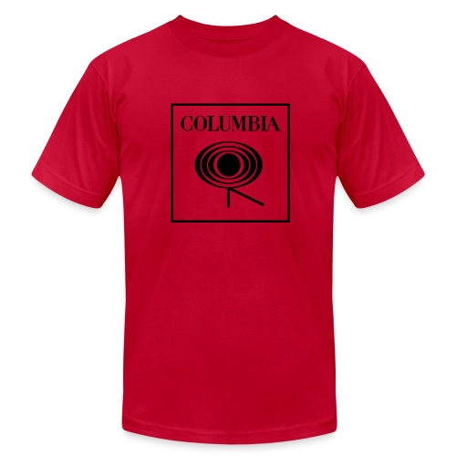 Columbia (black logo) Red Tee (AA) - Men's  Jersey T-Shirt