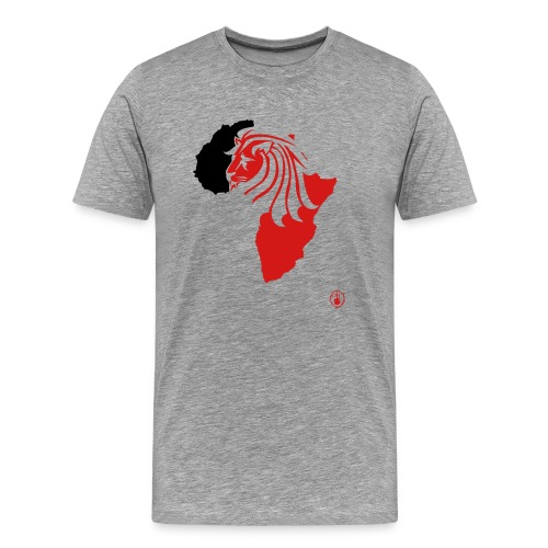 Lion Head Africa RB - Men's Premium T-Shirt