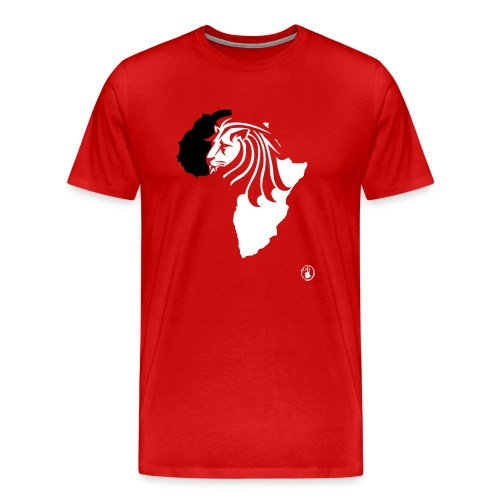 Lion Head Africa BW - Men's Premium T-Shirt
