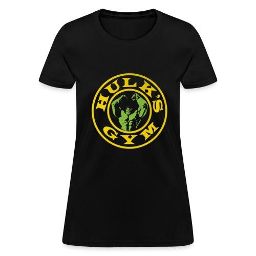 Hulk's Gym (W) - Women's T-Shirt