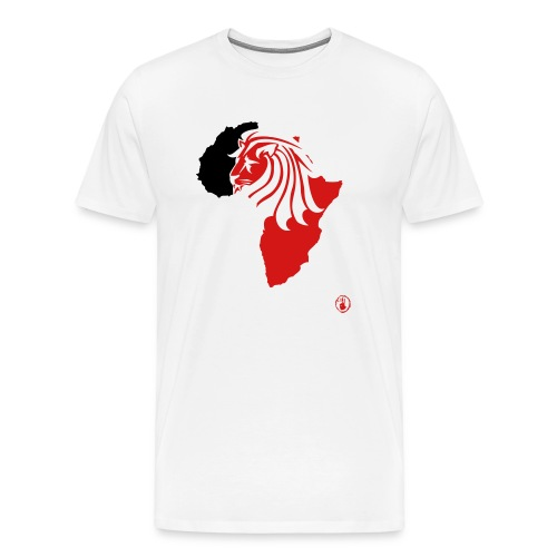 Lion Head Africa RB - Men's Premium T-Shirt