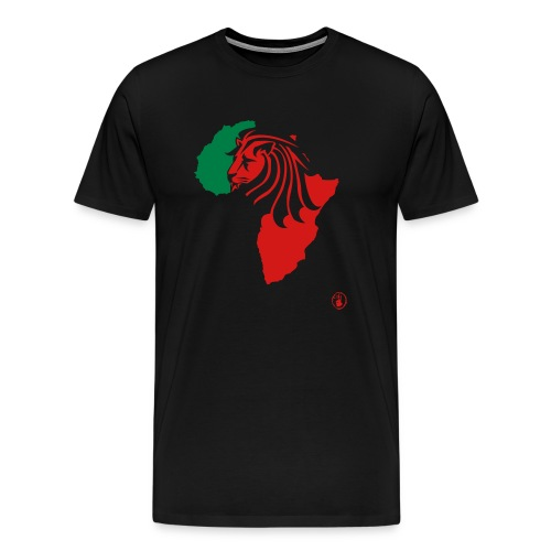 Lion Head Africa RG - Men's Premium T-Shirt