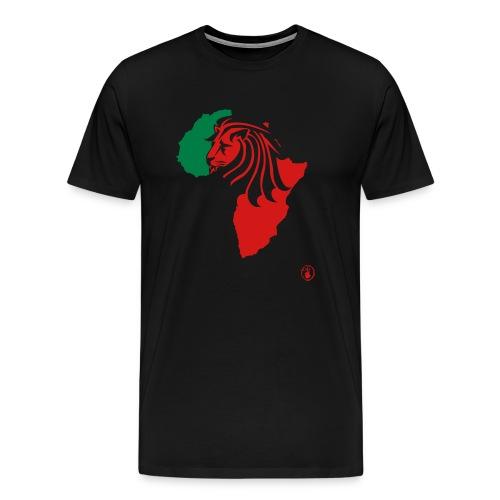 Lion Head Africa RG - Men's Premium T-Shirt