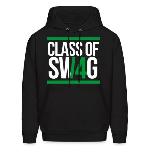 Class Of Swag Green Hoodie  - Men's Hoodie